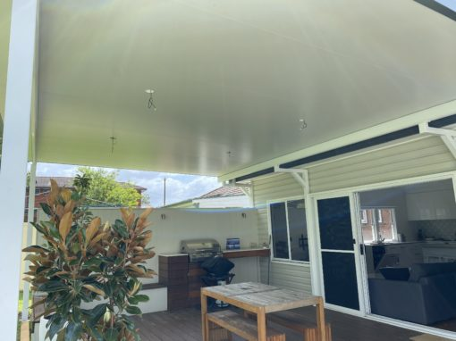 Insulated Roof Pergola